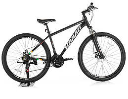 Велосипед KONAR 27.5″17#, алюминиевая рама 17, колеса 27.5 дюймов, черно-серый
