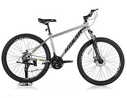Велосипед KONAR 27.5″17#, алюминиевая рама 17, колеса 27.5 дюймов, серый