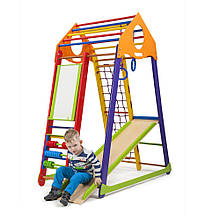 SportBaby Дитячий спортивний комплекс BambinoWood Color Plus