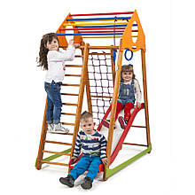 SportBaby Дитячий спортивний комплекс BambinoWood Plus 1