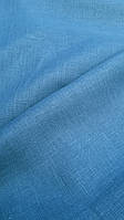 """Льняна костюмна тканина """"Атлантичний синій"""", фото 1"""