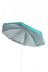 Зонт пляжный TE-002 голубой с наклоном