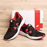 Мужские летние кроссовки сетка New Balance Black Red, фото 2