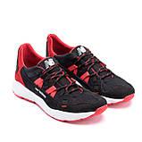 Мужские летние кроссовки сетка New Balance Black Red, фото 3