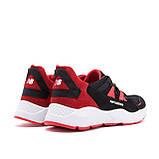 Мужские летние кроссовки сетка New Balance Black Red, фото 4