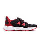 Мужские летние кроссовки сетка New Balance Black Red, фото 5