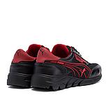 Чоловічі кросівки літні сітка Puma Anzarun чорні з червоним, фото 3