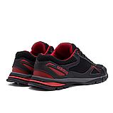 Чоловічі кросівки літні сітка Adidas Tech Flex чорні з червоним, фото 3