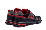 Мужские летние кроссовки сетка Adidas Tech Flex Black, фото 2