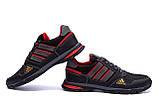 Мужские летние кроссовки сетка Adidas Tech Flex Black, фото 3
