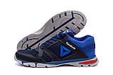 Мужские летние кроссовки сетка Reebok, синие, фото 2