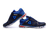 Мужские летние кроссовки сетка Reebok, синие, фото 3