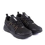 Чоловічі кросівки літні сітка Puma Runner чорні, фото 4