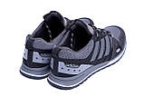 Чоловічі кросівки літні сітка Adidas Summer Grey сірі, фото 2