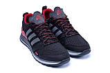 Чоловічі кросівки літні сітка Adidas Summer Red, фото 3