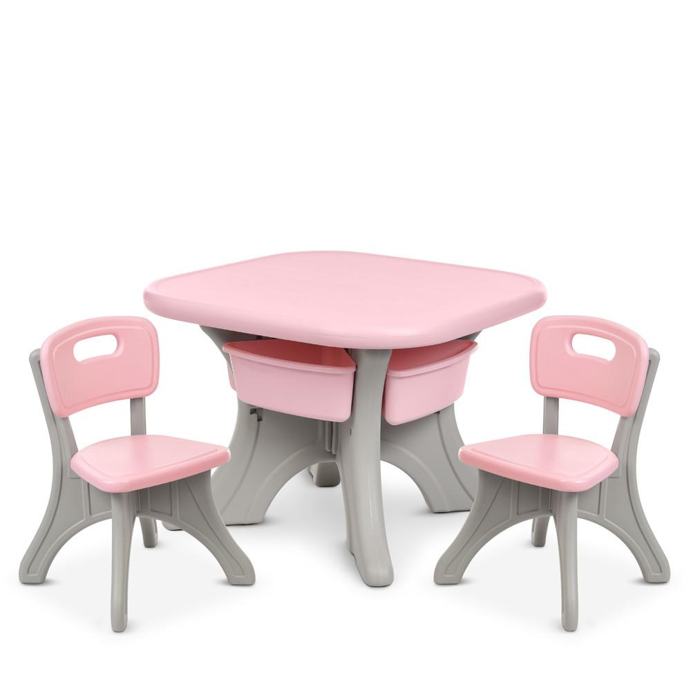 *Комплект меблів (стіл+2 стільці) TM Bambi арт. NEW TABLE-8