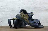 Мужские кожаные сандалии Columbia, фото 2
