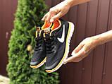 Женские летние, легкие кроссовки Nike Free Run 3.0 черные, фото 3