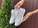 Женские летние, легкие кроссовки Nike Free Run 3.0 серые, фото 2