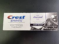 Отбеливающая зубная паста, Crest 3D White, Whitening Therapy Charcoal, 116 gram