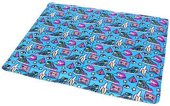 Охлаждающий коврик для собак принт Fresh Pop 65х50 см