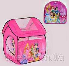 Намет ігровий дитячий 8009 Р Принцеси 112 х 102 х 114 см, в сумці