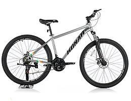 Велосипед KONAR KA-29″18# 21S, алюминиевая рама 18, колеса 29 дюймов, серый