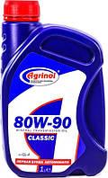 Масло Агринол CLASSIC SAE 80W-90 кан. 1л