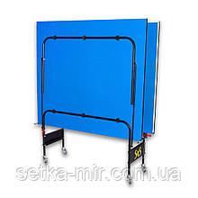 Теннисный стол складной S4S Стандарт, синий