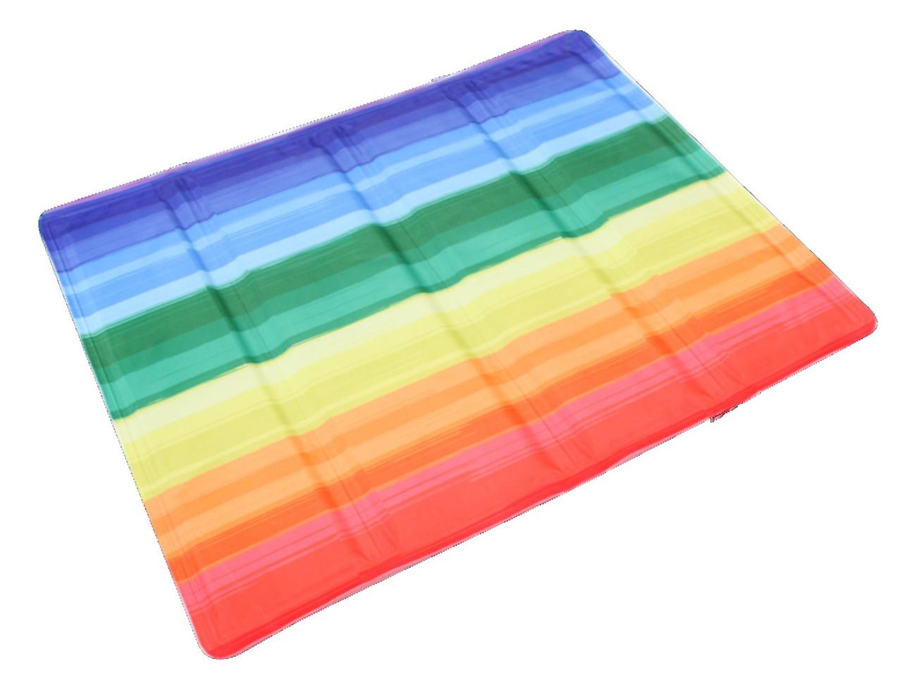 Охлаждающий коврик для собак Радуга 65х50 см, Croci