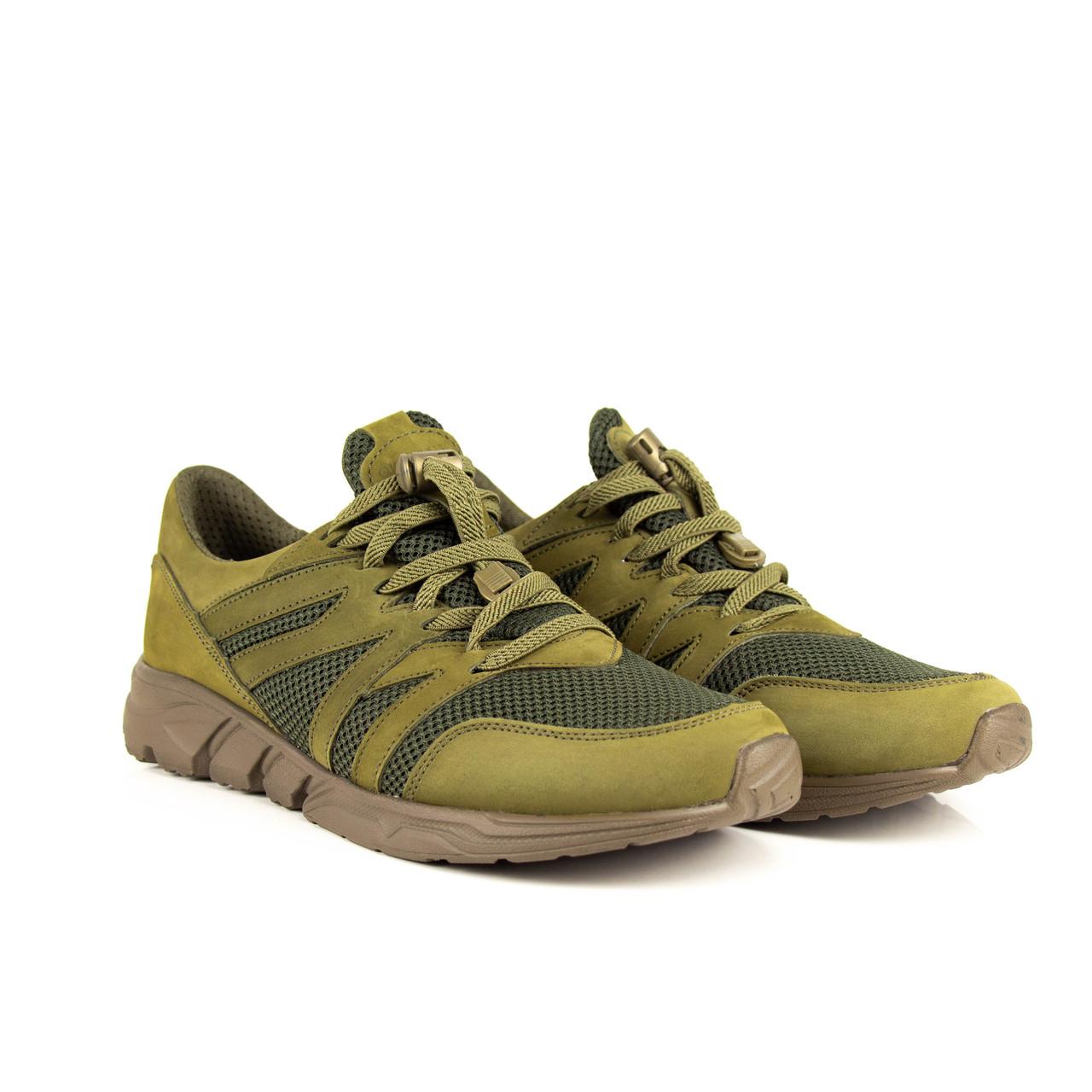 Кросівки літні Лео олива