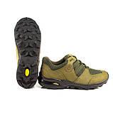 Кросівки літні Мустанг нубук/сітка олива, фото 5