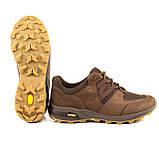 Кросівки літні Мустанг нубук/сітка шоколад, фото 5