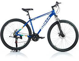 Велосипед KONAR KA-29″18# 21S, алюминиевая рама 18, колеса 29 дюймов, синий