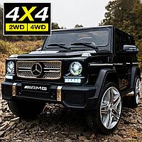 Дитячий електромобіль Kidsauto Mercedes-Benz G65 AMG FINAL EDITION 4WD/2WD чорний лак