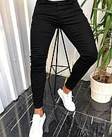 Зауженные джинсы черные