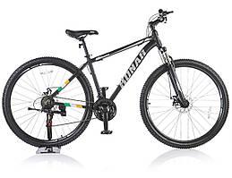 Велосипед KONAR KA-29″18# 21S, алюминиевая рама 18, колеса 29 дюймов, черный