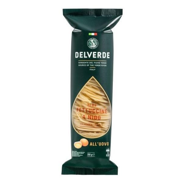 Макароны гнезда Delverde Fettuccine all uovo 250гр