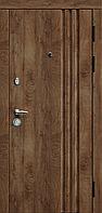 Двері вхідні SARMAK Тріо Прайм 960 R/ВІН Золотий дуб