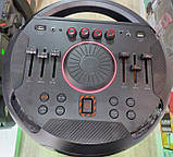 Колонка акумуляторна Leisound partybox BIG c радіомікрофоном (300W/USB/BT/FM/), фото 2