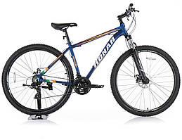 Велосипед KONAR KA-29″19# 24S, алюминиевая рама 19, колеса 29 дюймов, синий