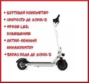 Електросамокат Crosser E9 Max 10 дюймів / Білий