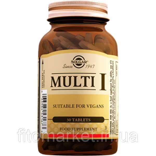Мульти-1 Solgar таблетки №30