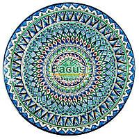 Ляган узбецький (тарілка узбецька) діаметр 42см ручна робота 4205-07