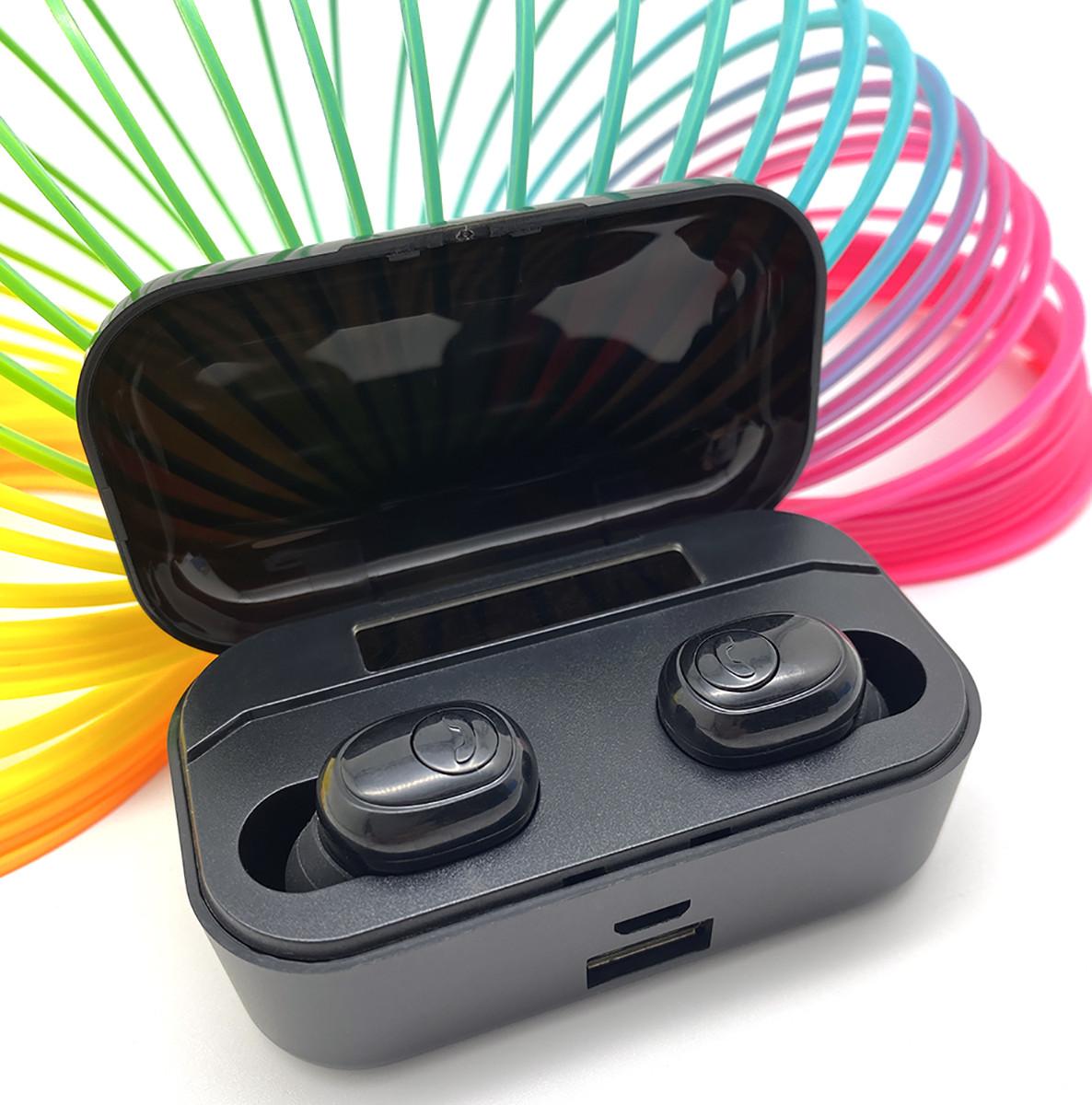Бездротові навушники 2200 mAh зарядний кейс c дисплеєм Wi-pods G6S Bluetooth 5.0 Оригінал