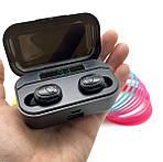 Бездротові навушники 2200 mAh зарядний кейс c дисплеєм Wi-pods G6S Bluetooth 5.0 Оригінал, фото 2