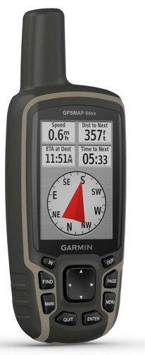 Туристичний GPS-навігатор Garmin GPSMAP 64sx (з топографічною картою України)
