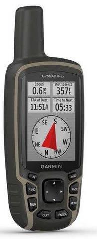 Туристичний GPS-навігатор Garmin GPSMAP 64sx (з топографічною картою України), фото 2