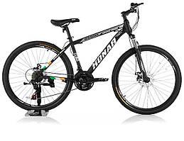 """Велосипед KONAR KA-26""""17, стальная рама 17, колеса 26 дюймов, черный"""