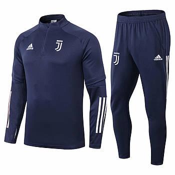 Тренировочный костюм Ювентус Adidas 2020/21 blue
